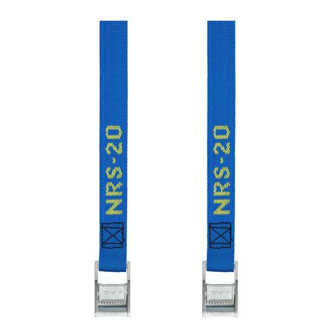 NRS_60001_01_117 NRS 1-Inch Long Heavy Duty Tie Down Strap, 20 Feet Long (Pair)