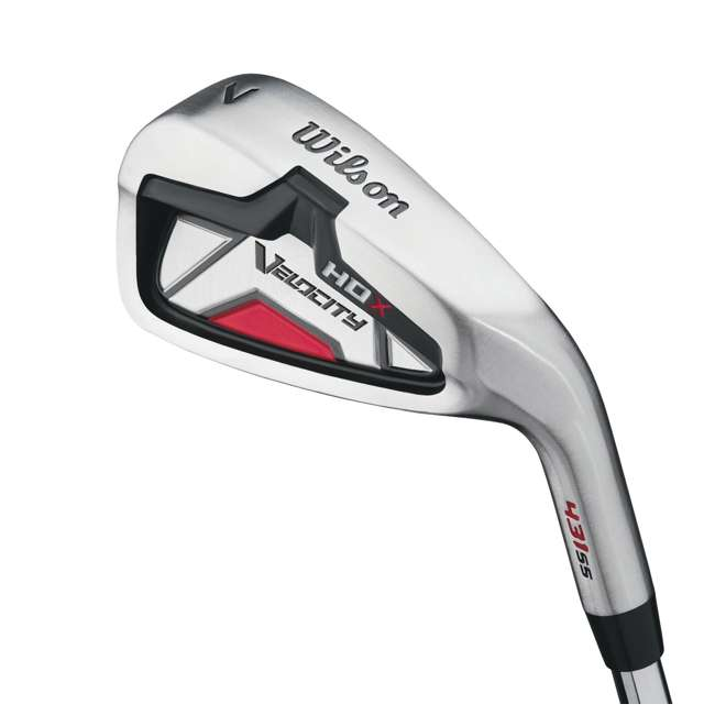 WGGC49800 Wilson Velocity HDX Men's Right Handed 8 Piece Golf Club Set (2 Pack) 3