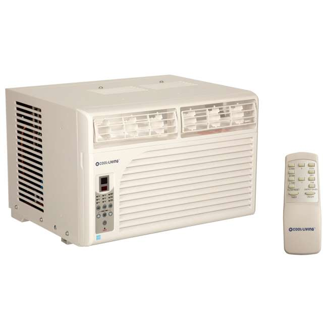 CL-RAC06EWES-U-A Cool Living AC 6000 BTU 11 EER Energy Star Window AC (Open Box) (2 Pack)