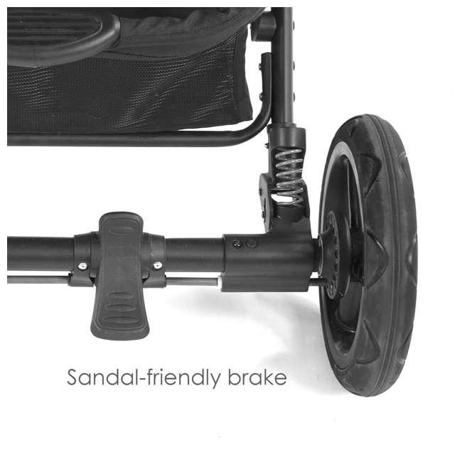 Contours options elite tandem double stroller carbon