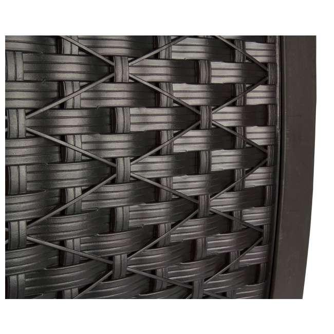 RSW125D-U-A Suncast 125 Ft Garden Hose Wicker Reel Touch and Go - Mocha | (Open Box)(2 Pack) 3