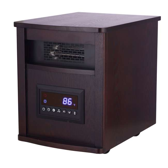 GD9315BCW-8J Konwin Wooden Cabinet Infrared Space Heater