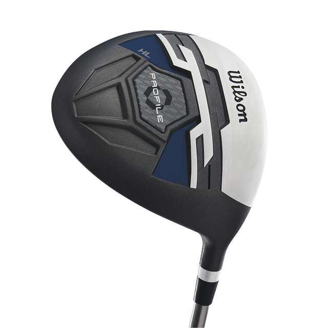 WGGC58200 Wilson Profile XD Men's Senior Right Handed Golf Club Set, Blue 4