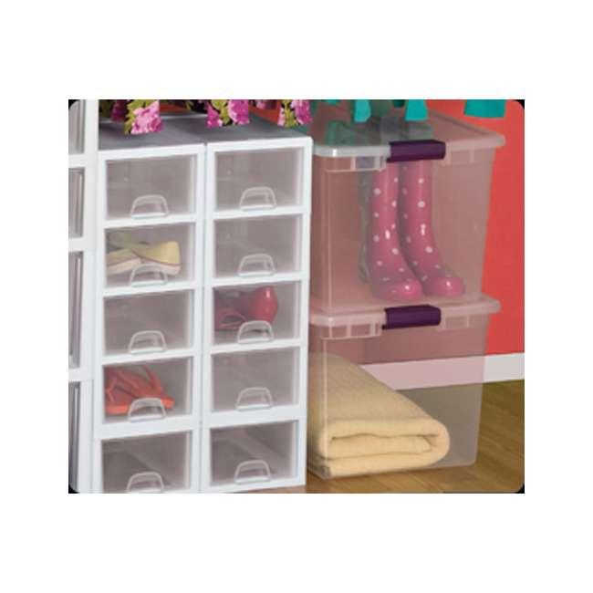 42 x 17571706 Sterilite 66-Quart ClearView Latch Box | 17571706 (42 Pack) 6
