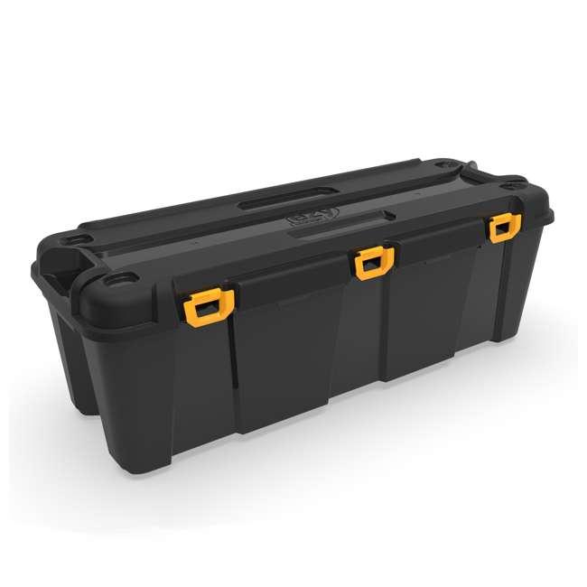 FBA32274 Ezy Storage 32274 Bunker 130 Liter Heavy Duty Storage Container Tub, Black/Gray 1
