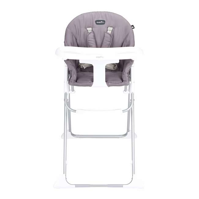 EVEN-25312029 Evenflo Clifton Foldable Baby Toddler High Chair, Smoke Gray 1