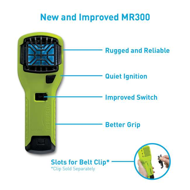 MR300V Thermacell MR300V Mosquito Repellent & Refill with 12 Mats & 4 Fuel Cartridges 5