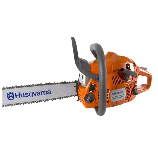 husqvarna 450 chainsaw. husqvarna 450 20-inch 50.2cc gas chainsaw (refurbished)