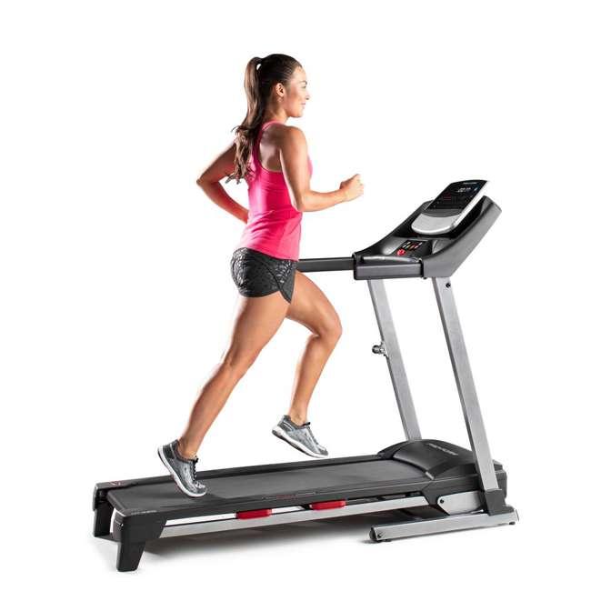 PFTL50717 ProForm Fit 425 Running Walking Exercise Treadmill, Black