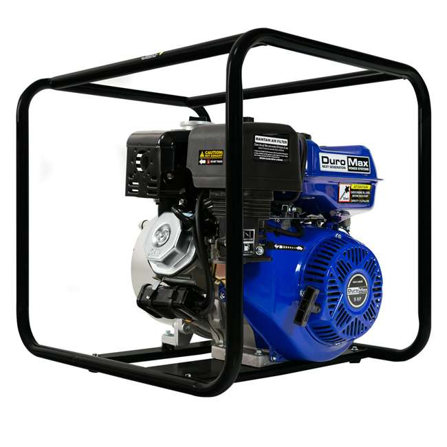XP904WP DuroMax 9 HP 427 GPM 3,600 RPM 4-Inch Portable Water Pump (2 Pack) 3