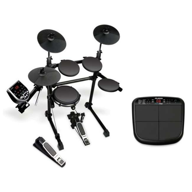 DM6 Session Kit ALESIS 5-Piece Electronic Drum Set + PercPad 4-Pad Drum Kit
