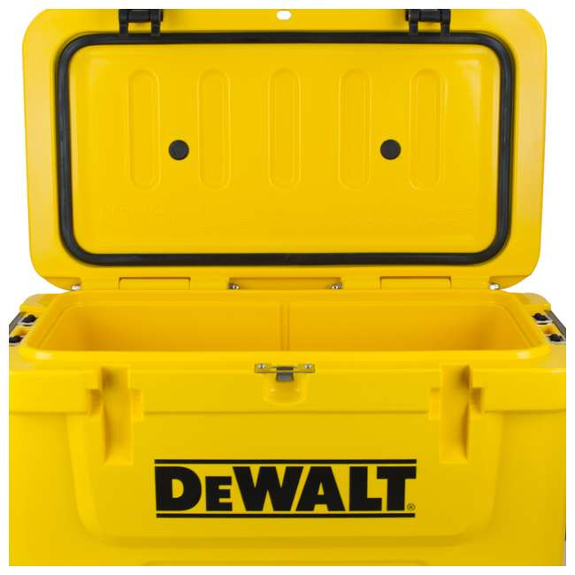 DXC45QT DeWalt 45 Quart Insulated Lunch Box Portable Drink Cooler, Yellow 5