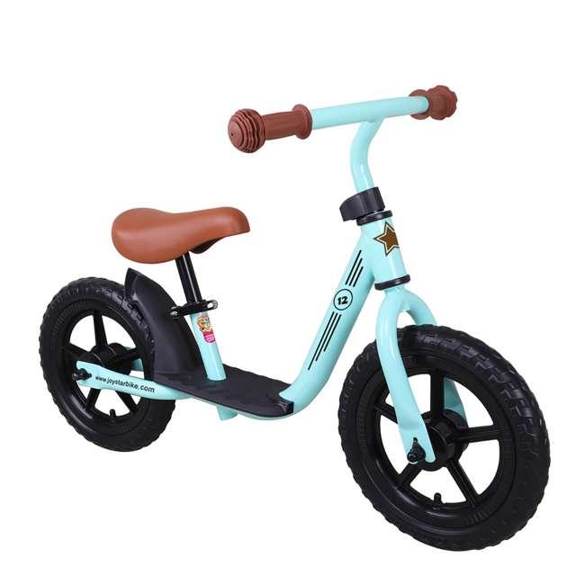 BIKE055gr Joystar Roller 12 Inch Kids Toddler Training Balance Bike Bicycle, Ages 2 to 4