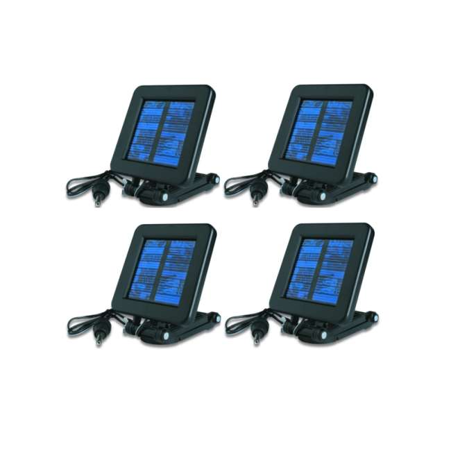 4 x MFHP12349 4 Moultrie Game Camera 6 Volt Deluxe Solar Power Panels