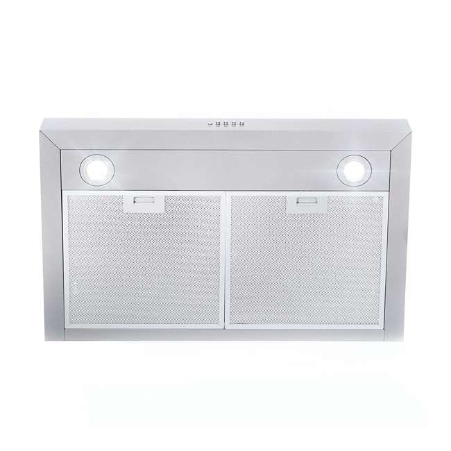 COS-5U30 Cosmo COS-5U30 30 Inch Under Cabinet Range Hood w/ Push Control, Stainless Steel 3