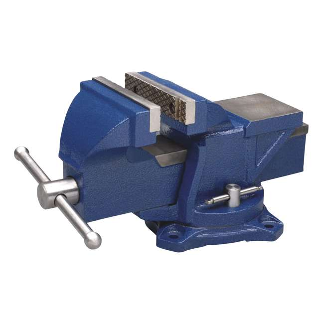 WIL-11104 + JPW-21036 Wilton 4 Inch Anvil Work Bench Vise + Sledge Hammer with 10 Pound Head 1