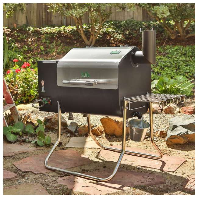 GMG-DCWF-GRILL Green Mountain Davy Crockett Wifi Control Portable Wood Pellet Grill (2 Pack) 7