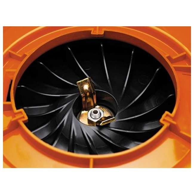 HV-BL-952711902-U-B Husqvarna 125BVx 28cc 2 Cycle Gas Powered 170 MPH Lawn Blower Vacuum (Used) 9