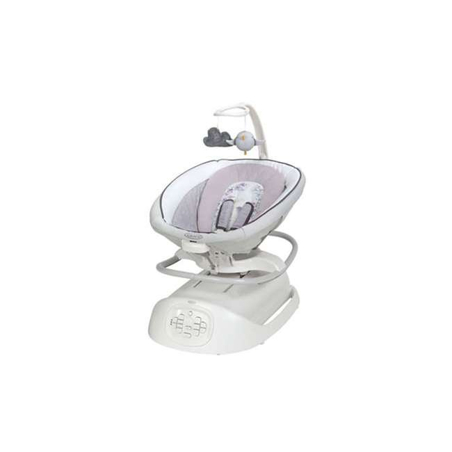 2060525 Graco Baby Infant Sense2Soothe Bouncer Swing w/ Cry Detection Technology, Birdie 2