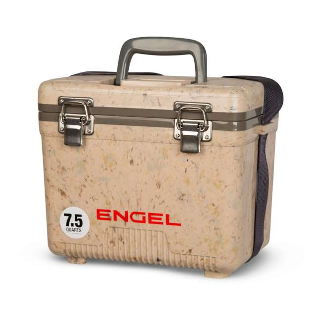 UC7C1 Engel 7.5-Quart EVA Seal Ice and DryBox Cooler with Carry Handles, Grassland 2