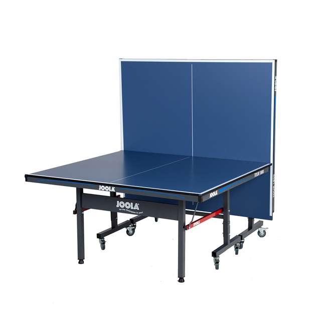 SS-11110 Joola 11110 Tour 1800 Indoor 18mm Folding Table Tennis Table with Net Set, Blue 1