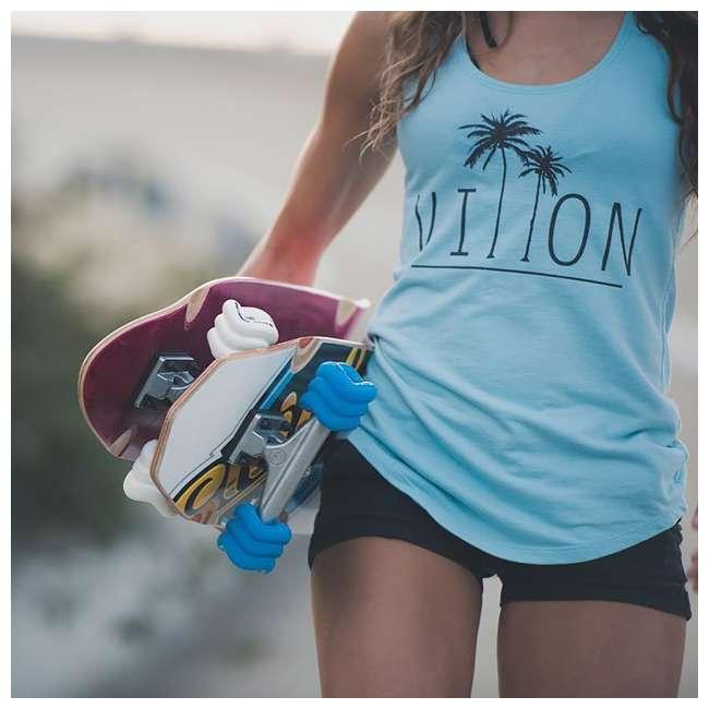 1001S60MMS78AW + 0007S6070MMS Shark Wheel California Roll Skateboard Wheels and Bearings 3