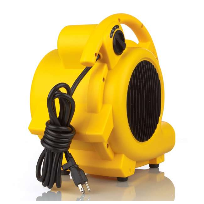 1032000 Shop-Vac 1032000 Shop Air High Velocity 500 Max CFM Air Mover/ Dryer, Yellow 1