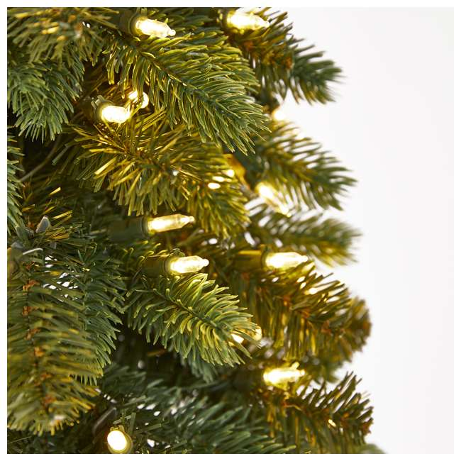 TV60P2819L00 Home Heritage True Bark 6 Foot Slim Artificial Christmas Tree with White Lights