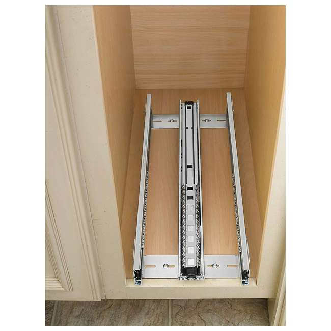 448-BC-5C-U-A Rev A Shelf 5 Inch Pull Out Wood Base Cabinet Organizer, Maple(Open Box)(2 Pack) 4