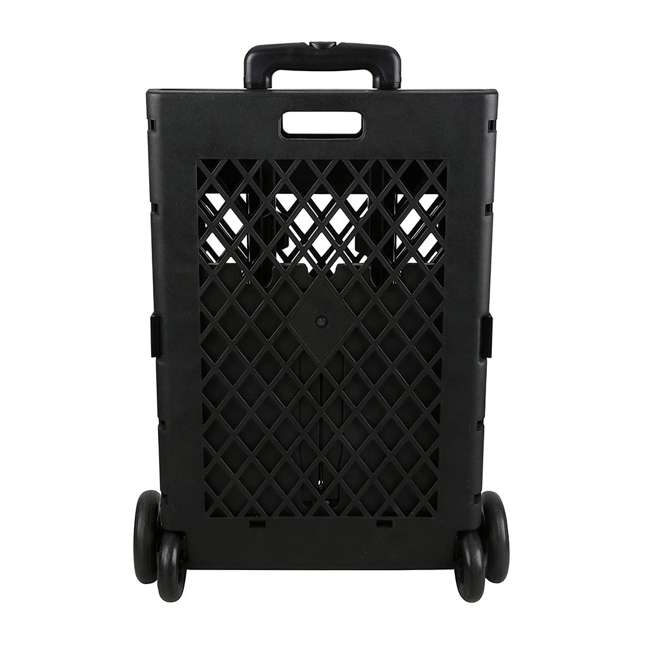 85-404 Olympia Tools 85-404 Pack n Roll Portable Folding Mesh Rolling Storage Cart 1