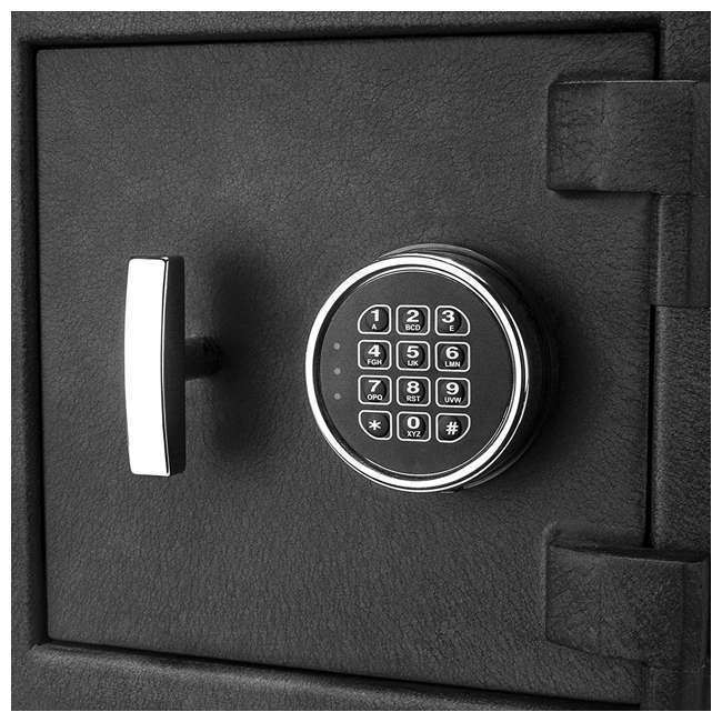 BARSKA-AX12588-OB Barska DX-200 Standard Solid Steel Depository Box Keypad Safe(Open Box) 2