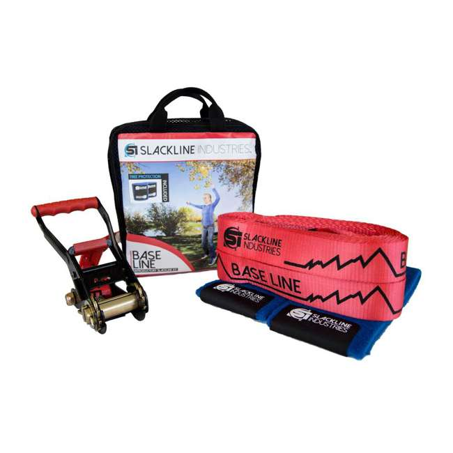 SI00085Z-U-A Slackline Industries Baseline Complete Kit with Tree Protection (Open Box)