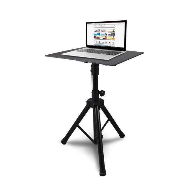 PLPTS4 Pyle Pro Universal Laptop Computer Studio DJ Mount Stand 4