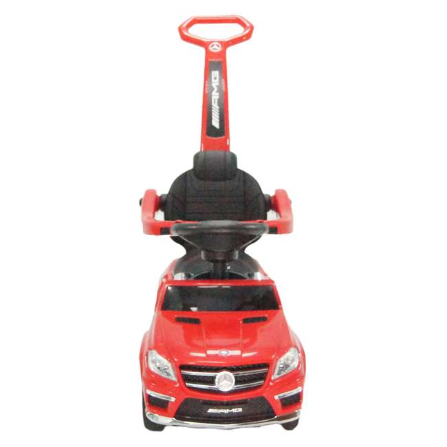 4 in 1 Mercedes Push Car Red Best Ride On Cars Baby 4 in 1 Mercedes Toy Push Vehicle, Stroller, & Rocker, Red 1