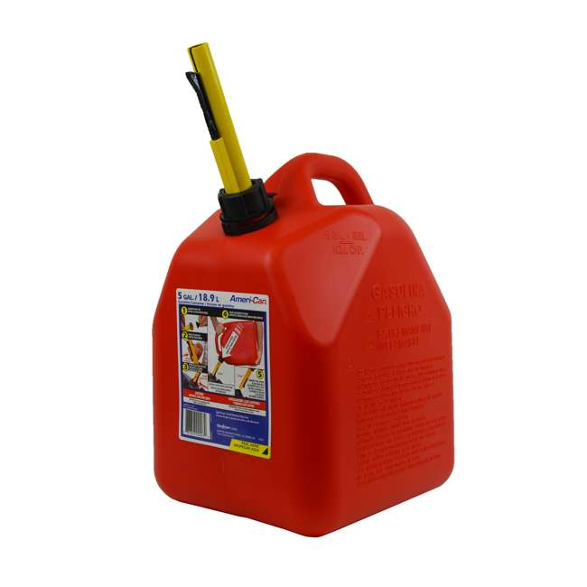 3-SCEPTER Scepter 5-Gallon EPA & CARB-Certified Ameri-Can Gas Can (2 Pack) 1