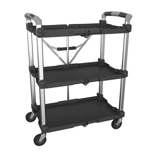 85-189 Olympia Tools 85-189 Pack n Roll XL Collapsible Storage Service Cart with Wheels