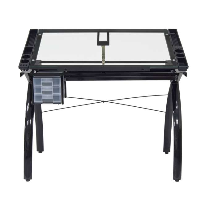 STDN-10072-U-B Studio Designs Futura Adjustable Arts & Crafts Drawing Desk Station (Used) 3