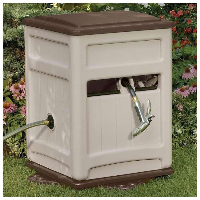 SSB200B Suncast  Swivel Hose Reel Hideaway w/ Hose Guide, Taupe     (Open Box) (2 Pack)  1