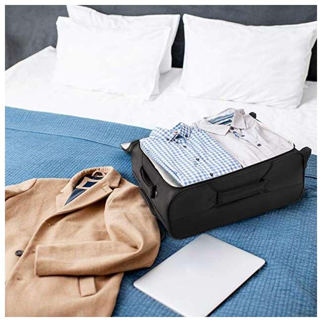 AERO9611 BLACK FBA Aerolite Maximum Allowance Heavy Duty Airline Approved Carryon Suitcase, Black 3