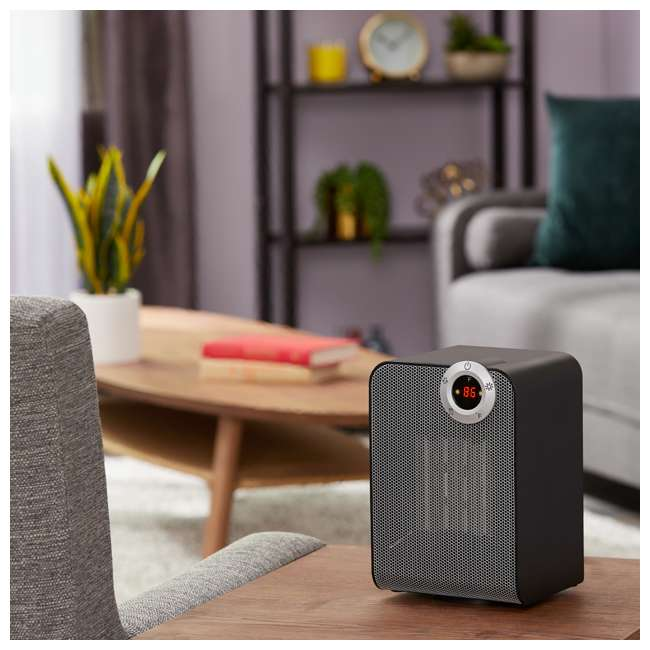 LIM-19-100002 Limina Portable Home Office Personal Electric 1500W Ceramic Room Space Heater 1