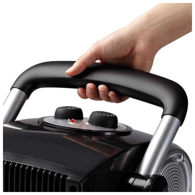 LKO-5919-TN Lasko 5919 Pro Portable Electric 1500W Ceramic Utility Room Space Heater, Silver 2