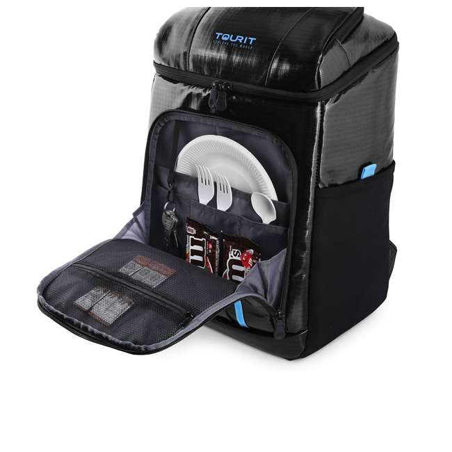 TR2103002A001 TOURIT TR2103002A001 Nomad Insulated Lightweight Lunch Cooler 30 Can Backpack 2