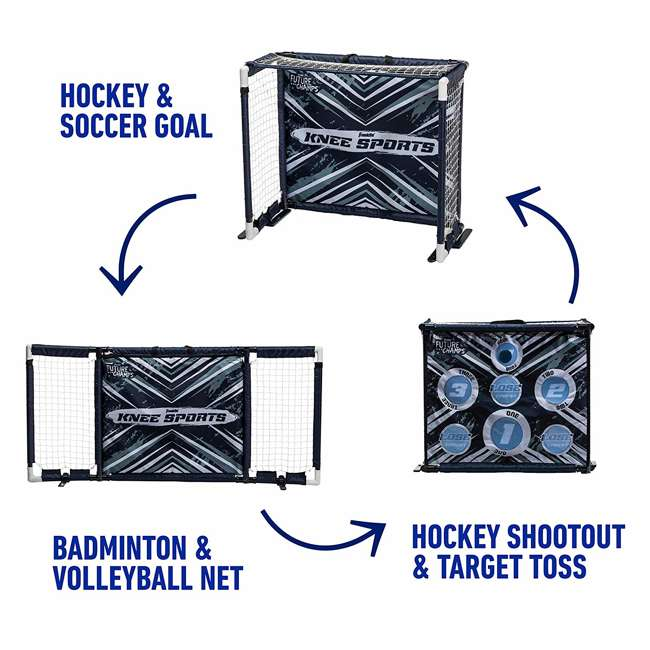 60174 Franklin Future Champs 6-in-1 Knee Sports Combo Set 4