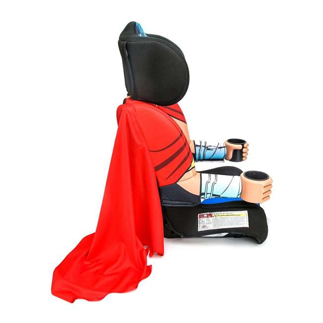 KE-3001WWM KidsEmbrace Combination 2 in 1 Booster Forward Facing Car Seat, DC Wonder Woman 2