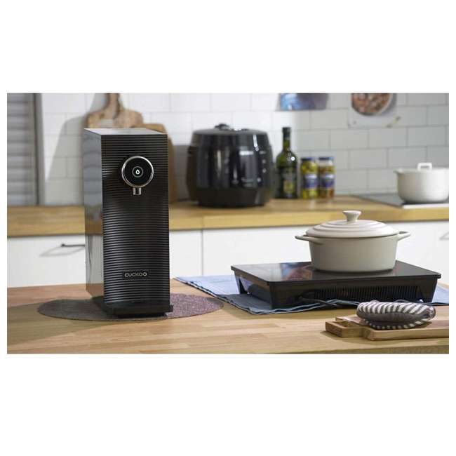 CP-MN031BK Cuckoo Direct Flow Kitchen Countertop Purifier Water System w/ 3 Filters, Black 5