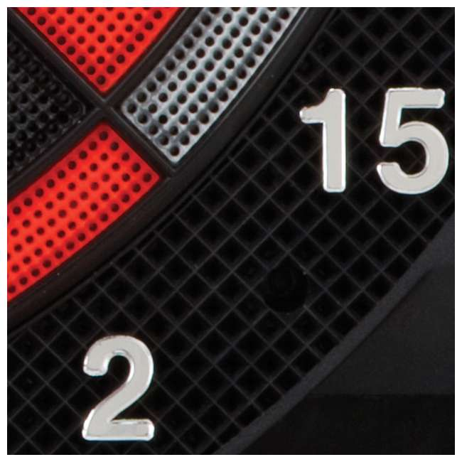 4 x VIP42-1017 Viper 797 Electronic Soft Tip Dartboard with Darts (4 Pack) 6