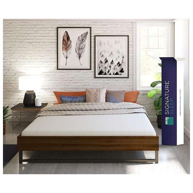 5473396 Dorel Signature Sleep Memoir 6 Inch Memory Foam Mattress, King Certified Foam 2
