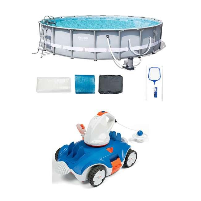Bestway Steel Pro Frame Pool Set | Aquatronix Autonomous Cordless Pool  Cleaning Robot