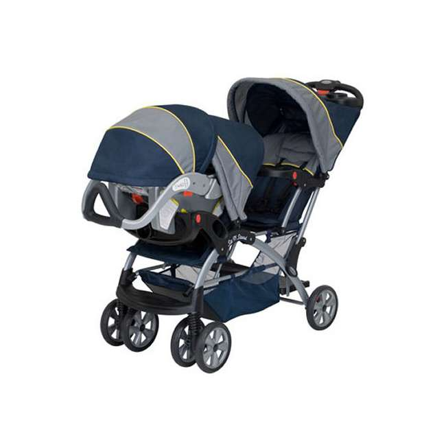 Baby Trend Sit N Stand Double Inline Stroller Twin Car