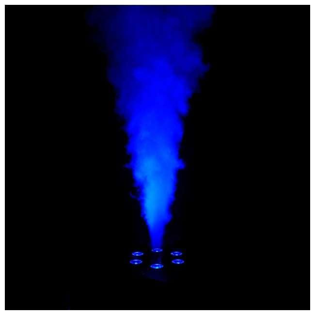 GEYSER-T6 + 4 x FJU Chauvet DJ Geyser T6 Fog Machine and Light Effect with 4 Gallons Fog Fluid 6